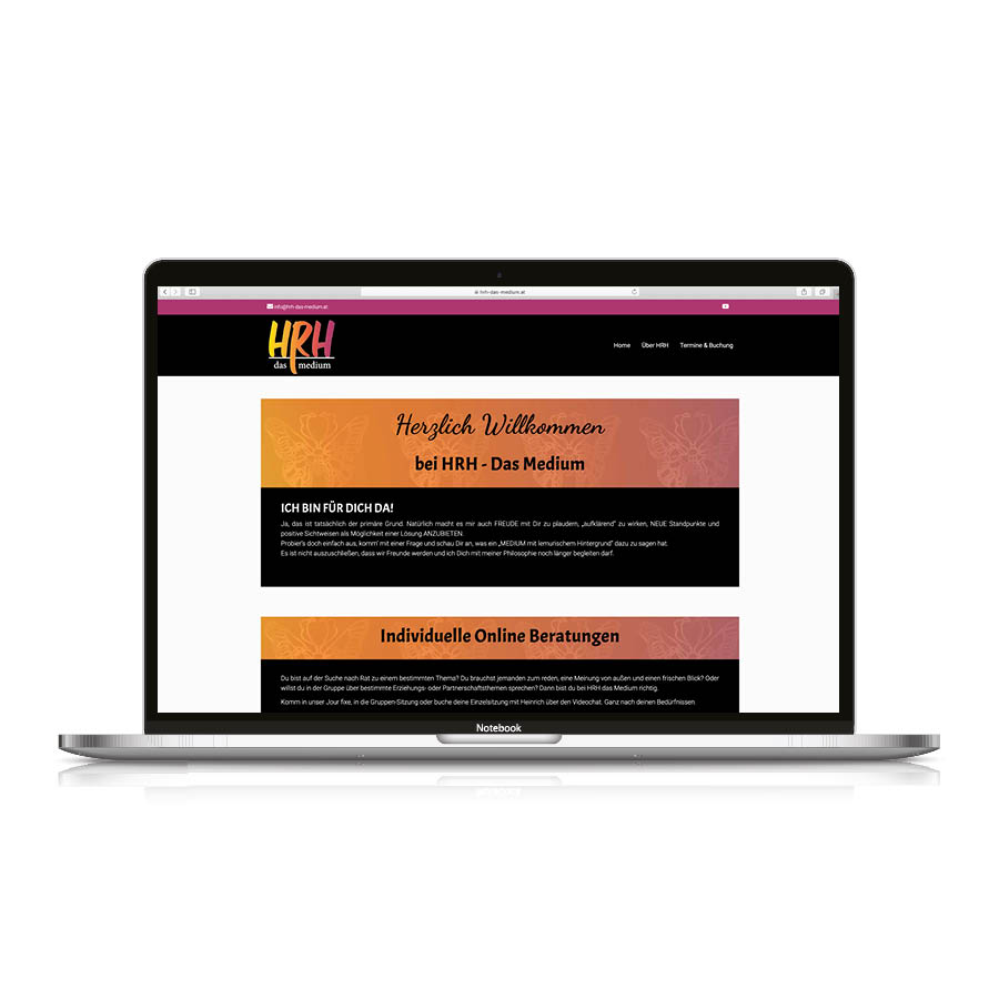 hrh website