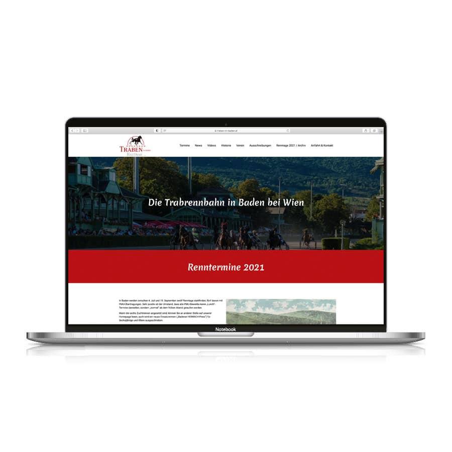 trabeninbaden-website